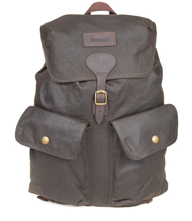 Barbour Beaufort Backpack in olive